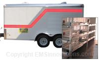 12' Mobile Morgue Trailer