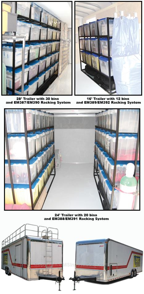 EMS Racking & Bin Systems